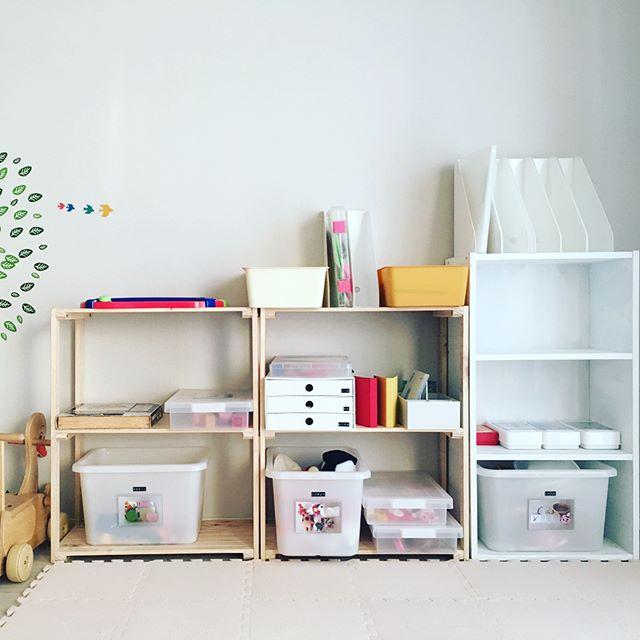 おもちゃ棚(オープンシェルフ)2