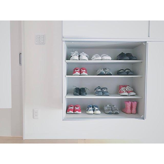 靴箱にもゆとりを作る