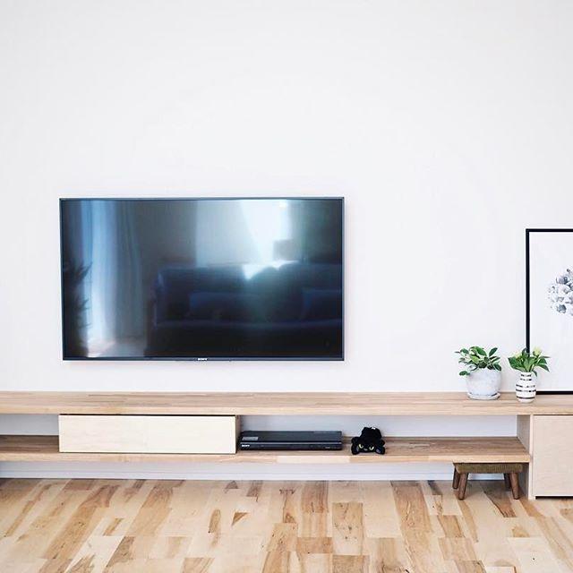 壁掛け テレビ インテリア9