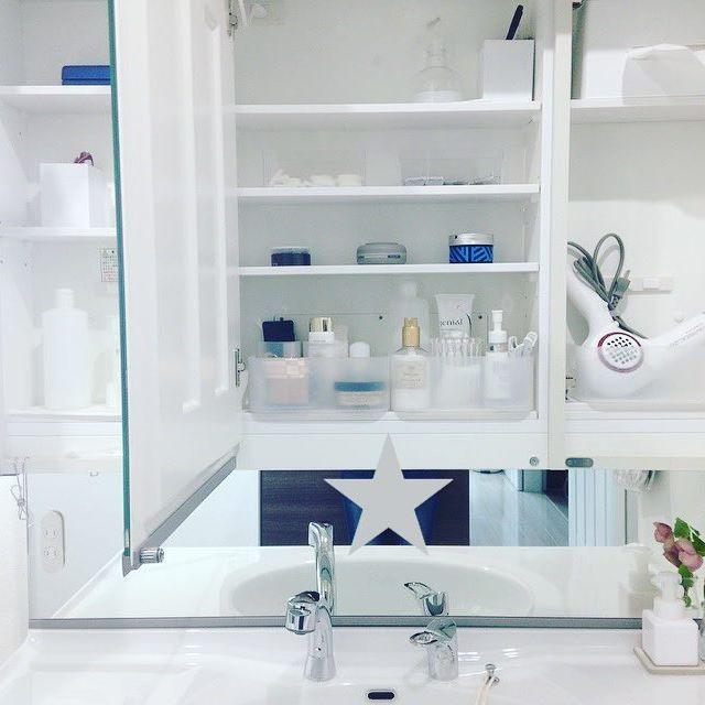 洗面台の収納を利用する12