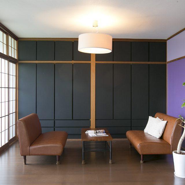 一人暮らしの和モダンインテリア《家具の選び方》4