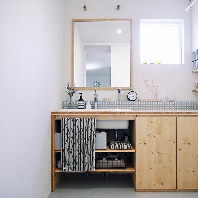 洗面台 おしゃれ 収納2