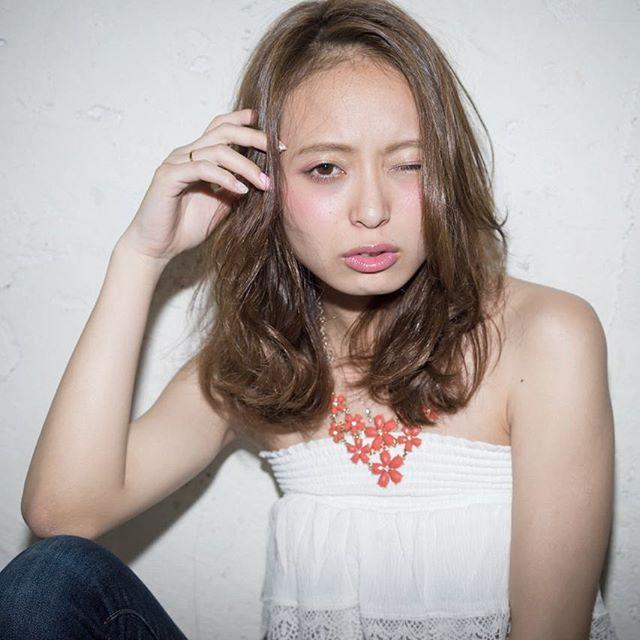 外国人風×ヘルシー毛先カール