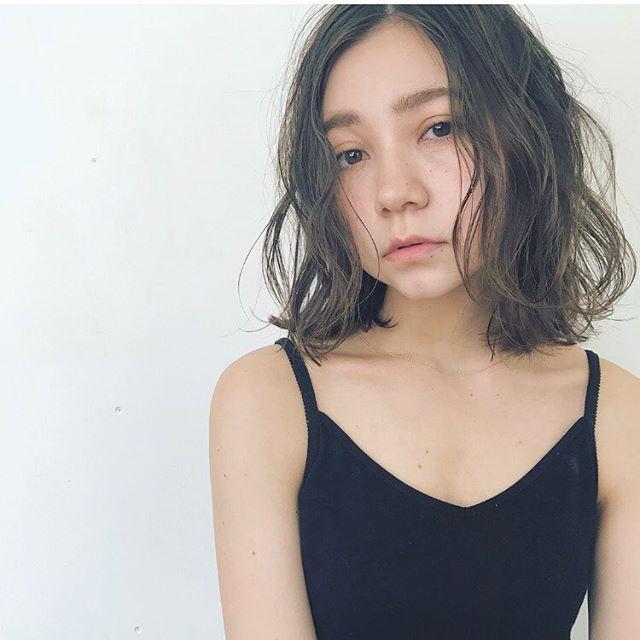 外国人風×ふわくしゅパーマ