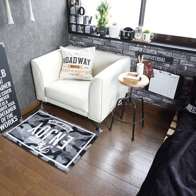 ワンルームや自室用に最適な一人掛けソファ2