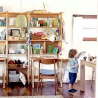 勉強机はいつもすっきりさせたい!子供が簡単に片付けられる収納アイデアまとめ