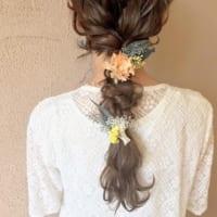 おしゃれなダウンスタイルで差をつけて♡結婚式におすすめのヘアアレンジ集