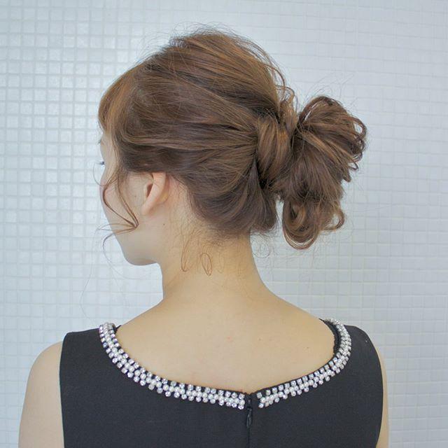 40代におすすめの結婚式の髪型20