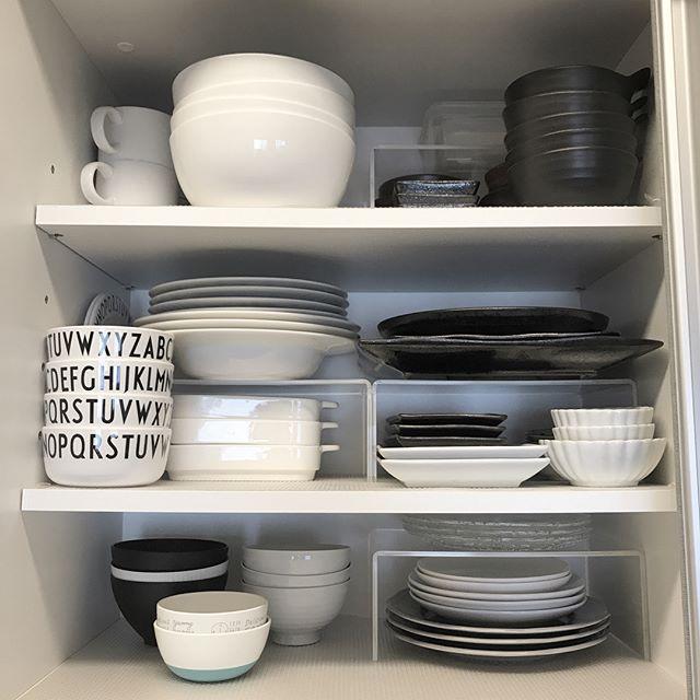 一人暮らしのおしゃれなキッチン《食器》