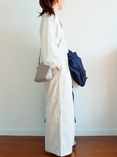 [LEPSIM] 【日々アイテム】20チノタックワイドパンツ 775322