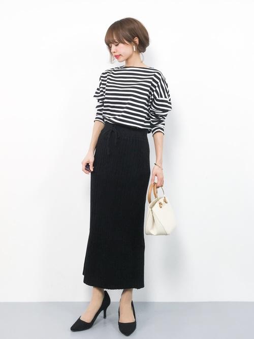 【台湾】4月に最適な服装:スカートコーデ3