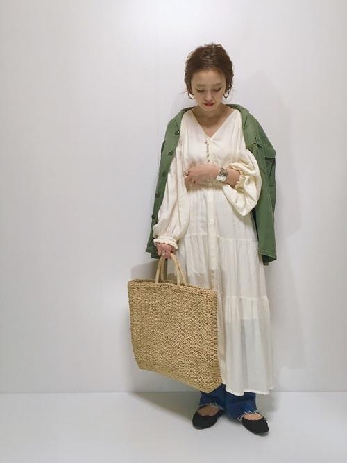 【2020春】妊婦さんにおすすめのワンピースコーデ4