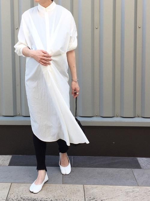 【2020春】妊婦さんにおすすめのワンピースコーデ2