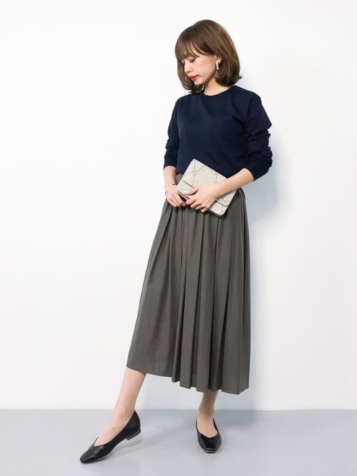 33[BEAUTY&YOUTH UNITED ARROWS] BY∴ Vカットスクエアトゥフラットシューズ 1.0