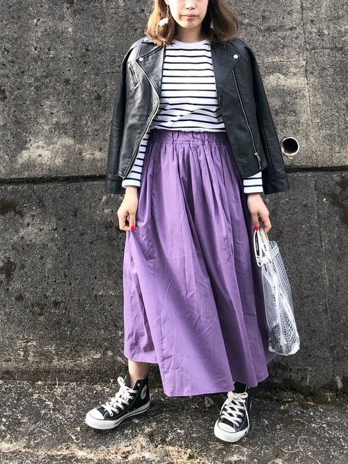【2020春】妊婦さんにおすすめのスカートコーデ3