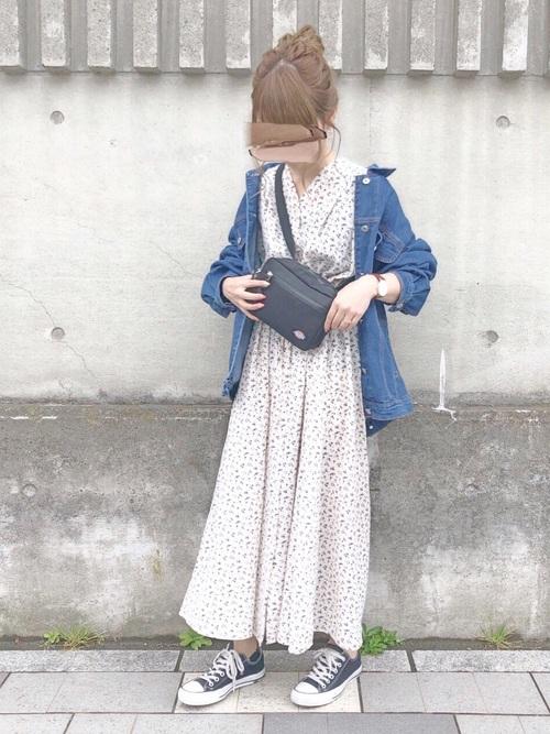 【台湾】4月に最適な服装:ワンピースコーデ3
