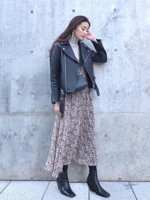 【台湾】4月に最適な服装:ワンピースコーデ6