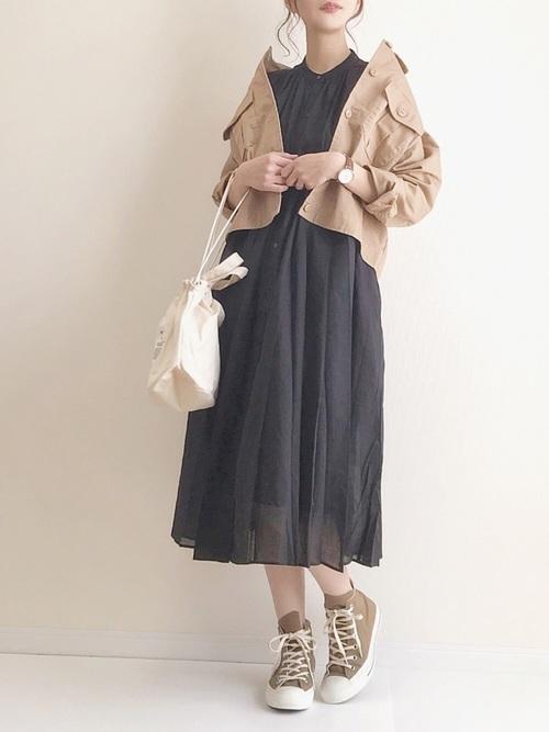 【台湾】4月に最適な服装:ワンピースコーデ4