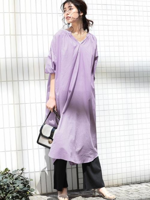 紫ワンピース2