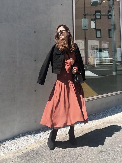 【台湾】4月に最適な服装:ワンピースコーデ7