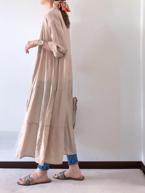 【台湾】4月に最適な服装:ワンピースコーデ