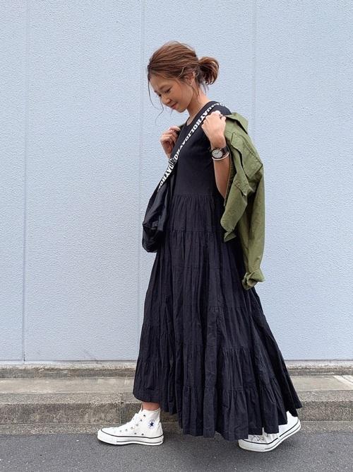 【台湾】4月に最適な服装:ワンピースコーデ5