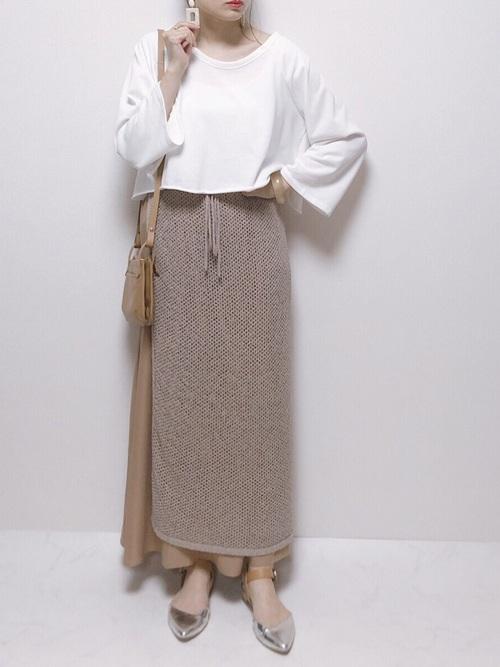 【タイ】4月に最適な服装:スカートコーデ