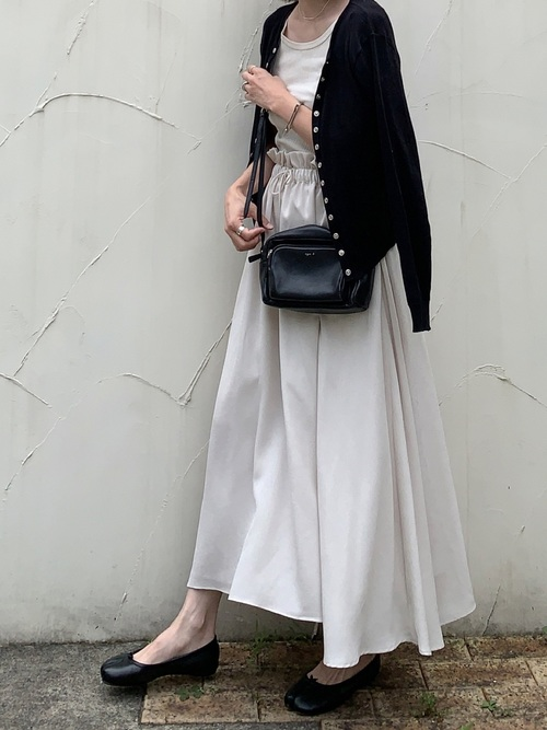 [RIM.ARK] ギャザーマキシスカート