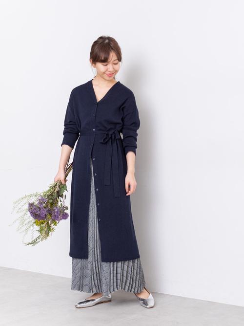 [NATURAL BEAUTY BASIC] [洗える]チェックプリーツスカート