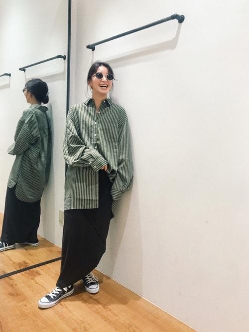 [Ungrid] アシメデザインカットスカート