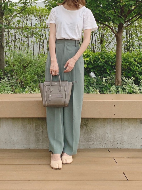 [BEAUTY&YOUTH UNITED ARROWS] <6(ROKU)>GEORGETTE TUCK PANTS/パンツ