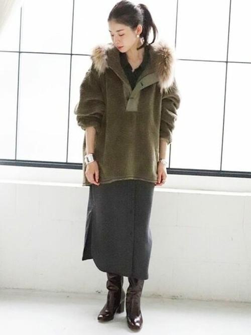 [Plage] 【JANE SMITH/ジェーンスミス】 FIELD PARKA LINER ブルゾン◆