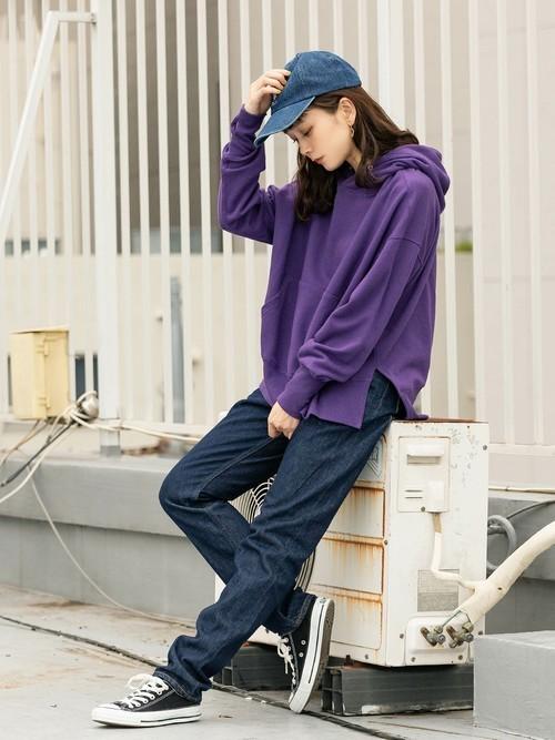 [ROOP TOKYO] made in standard/メイドインスタンダード スリットワイドパーカー