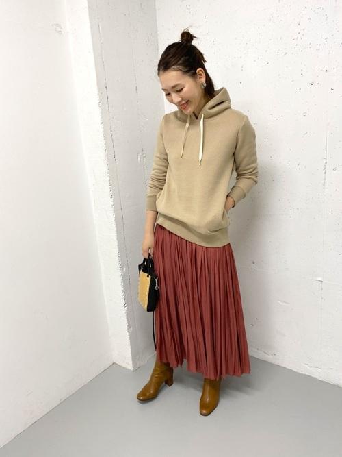 [URBAN RESEARCH ROSSO WOMEN] プリーツロングスカート