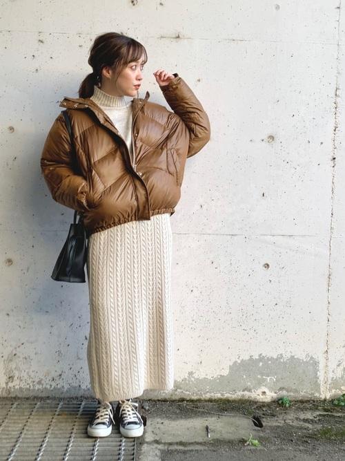 GUの冬スカート4
