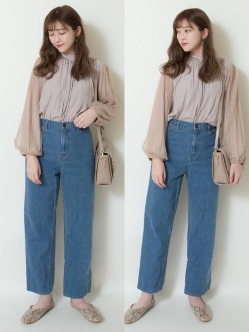 【台湾】4月に最適な服装:パンツコーデ
