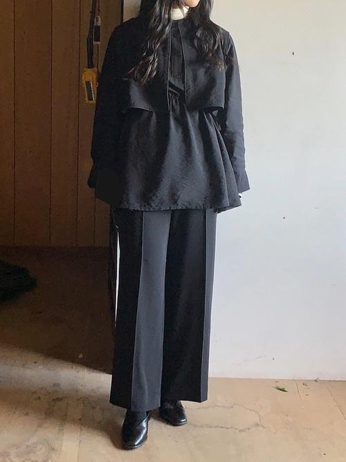 ユニクロのパンツと着こなし例4