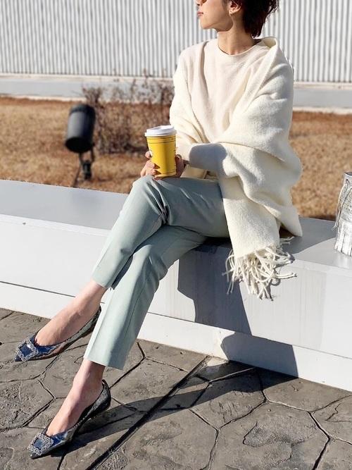 ユニクロのパンツと着こなし例5