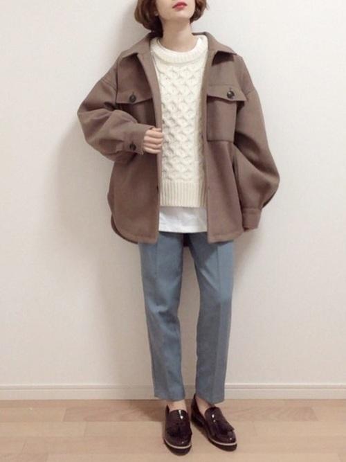GUの冬パンツ