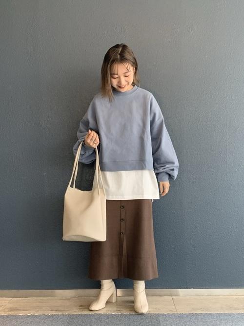 [LOWRYS FARM] ニットタイトスカート 868515