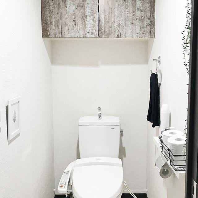 トイレの収納棚DIY13