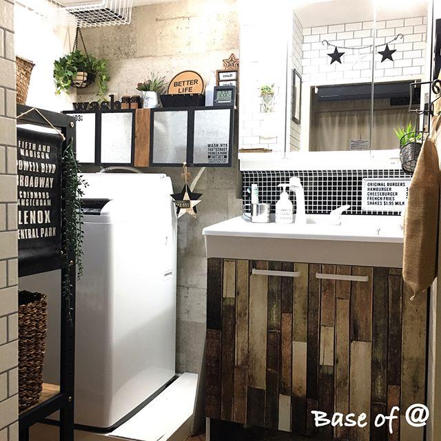 洗面所DIYアイデア18