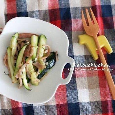 焼きそばの付け合わせに合う副菜《炒め》2