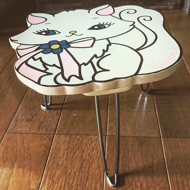 小さな子供用テーブルをリメイク!