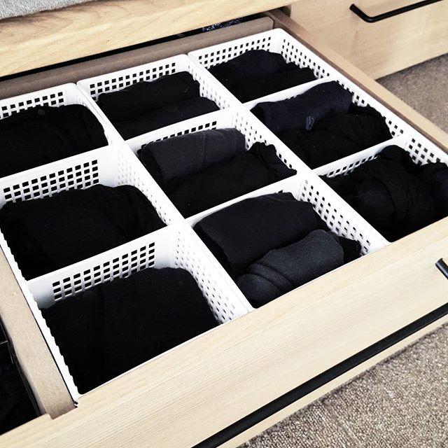 ベッド下収納に100均ケースを足す方法