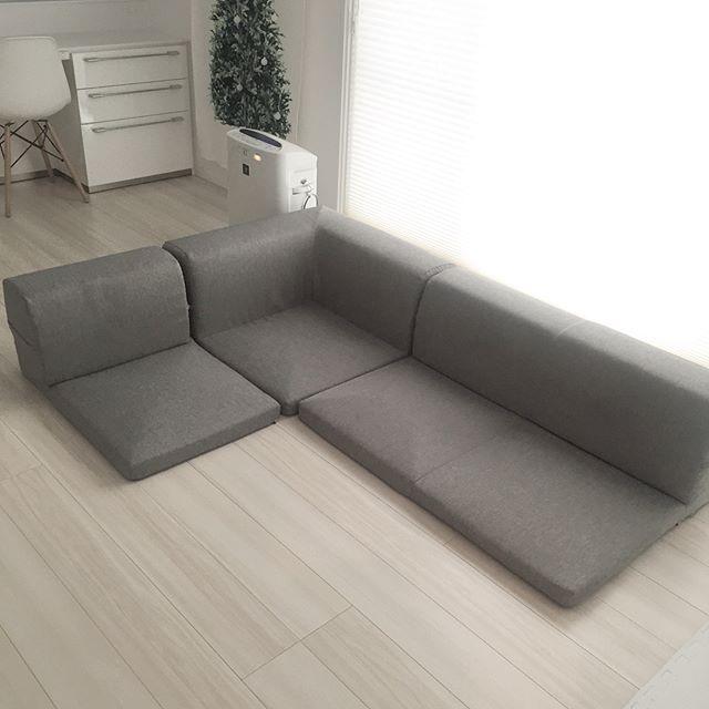 狭いリビングのソファの選び方