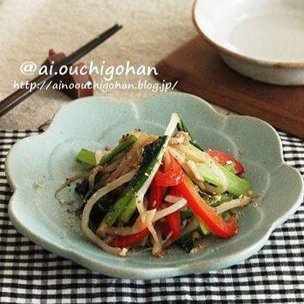 小松菜の簡単な副菜の人気料理《和風》12