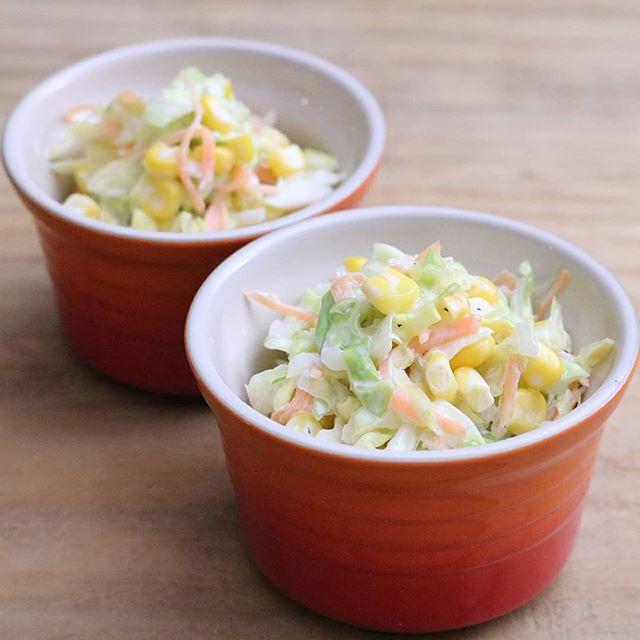 オムライスの献立に簡単な副菜《サラダ》3