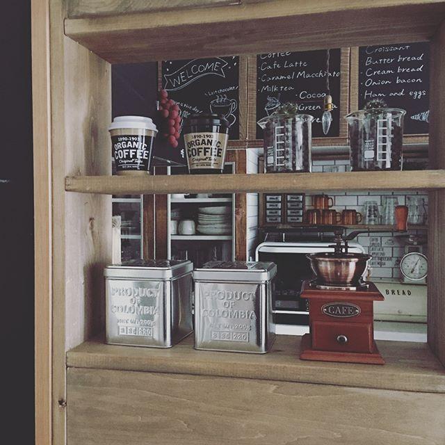 お洒落なカフェ風キッチン8