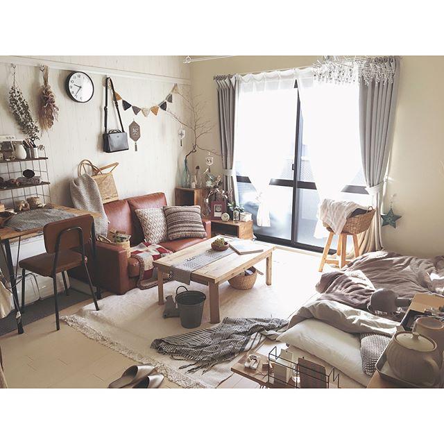 狭い部屋にソファを置くコツ《一人暮らし》
